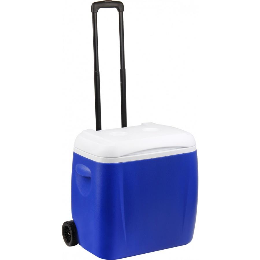 GOME กระติกน้ำแข็งพร้อมล้อ 38 ลิตร NEVA-01 สีน้ำเงิน