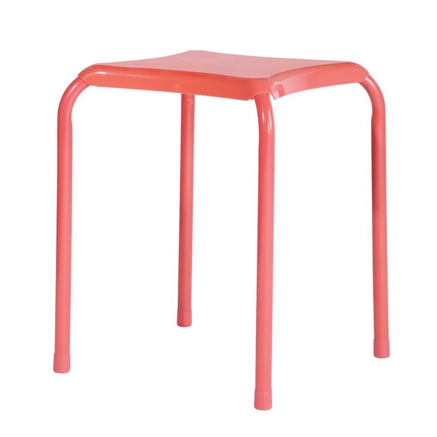 Delicato เก้าอี้เหล็ก ขนาด 34x34x46 ซม. FREY RED สีแดง