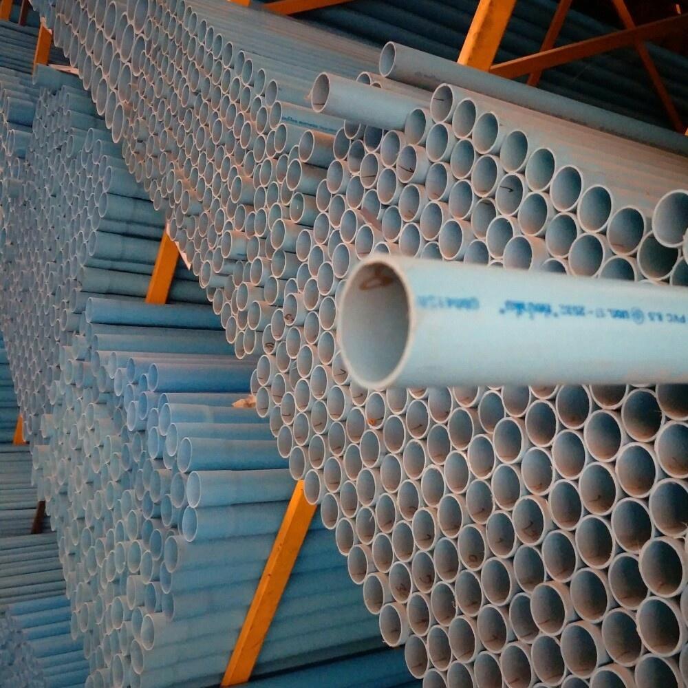 ท่อน้ำไทย ท่อพีวีซี(8.5)1.1/2 นิ้ว  ปลายเรียบ