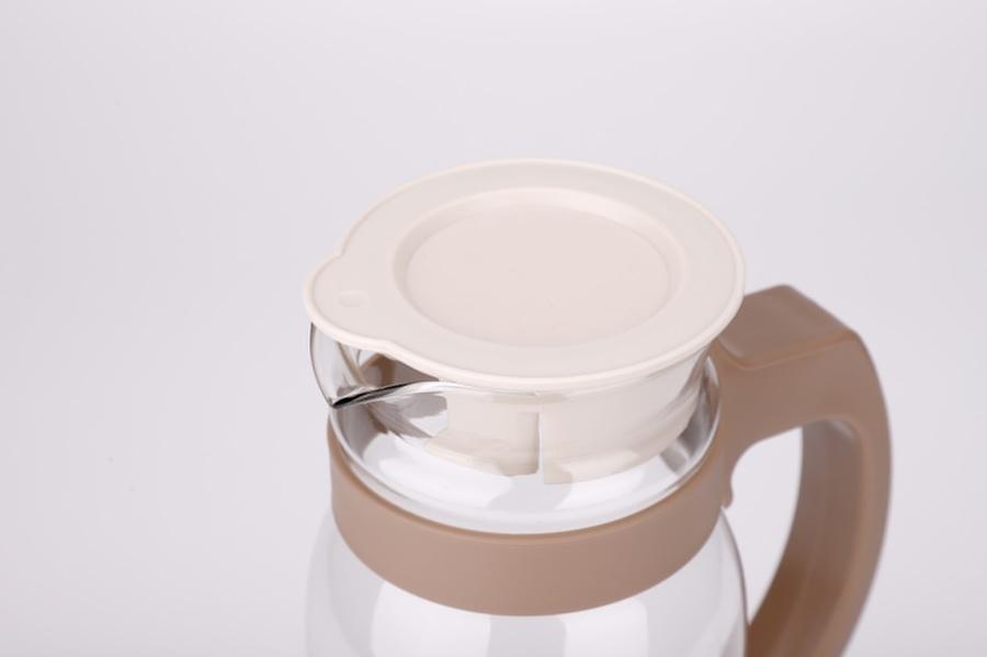 GOME เหยือกน้ำแก้ว 1400ml.  Misu สีน้ำตาล