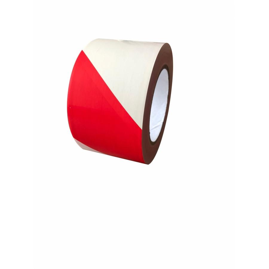 PROTX เทปกั้นเขตห้ามเข้า  ขนาด3x100เมตร RW-03  สีแดง-ขาว