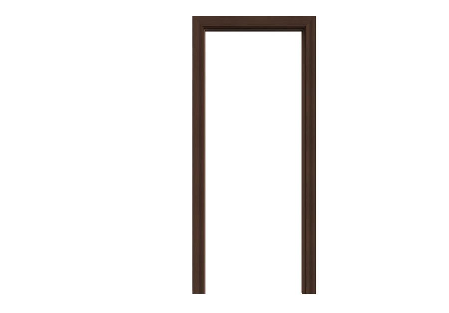 Wellingtan วงกบประตู WPC (พร้อมซับวงกบ) ขนาด 80x200ซม. THAI TEAK  WPCDF-W2-01