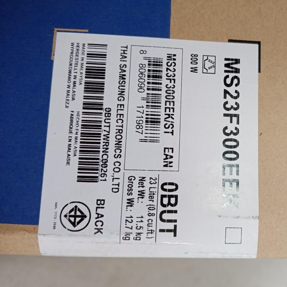 SAMSUNG ไมโครเวฟ 23 ลิตร MS23F300EEK/ST สีดำ