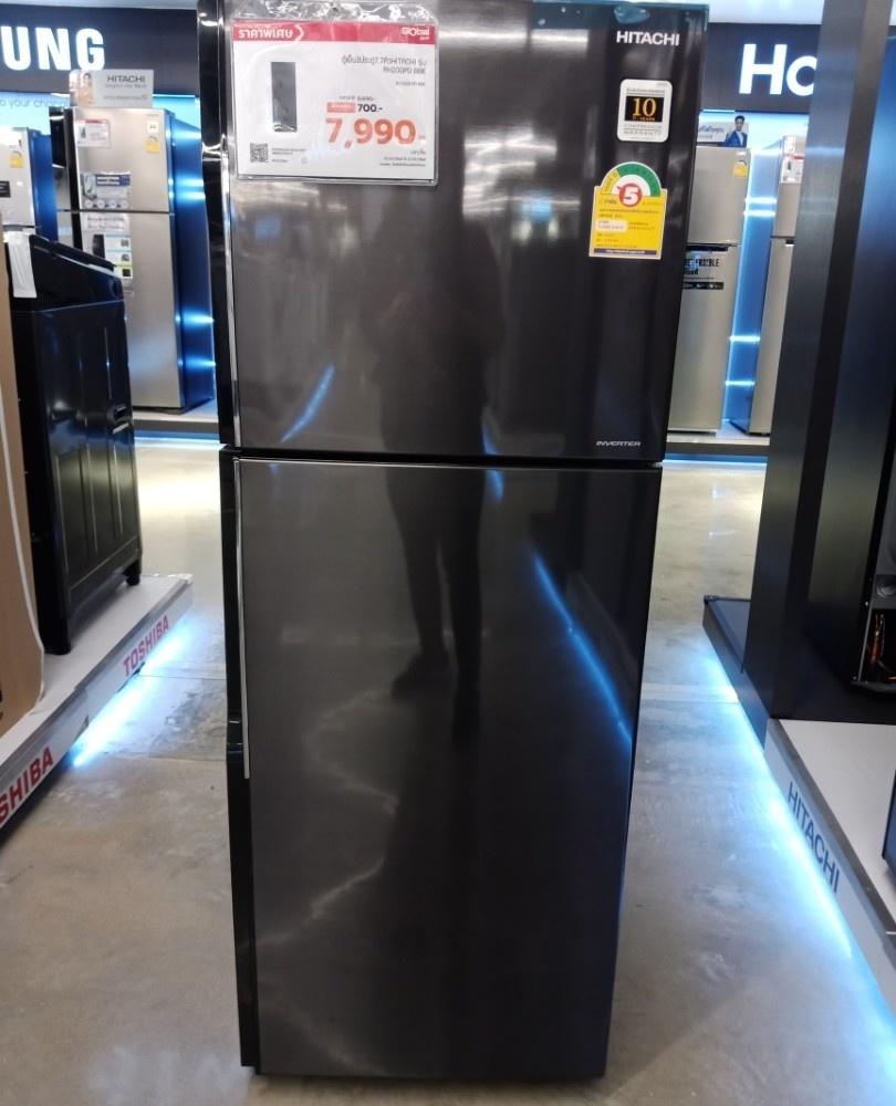 HITACHI ตู้เย็น 2 ประตู ขนาด 7.7 คิว RH200PD-BBK