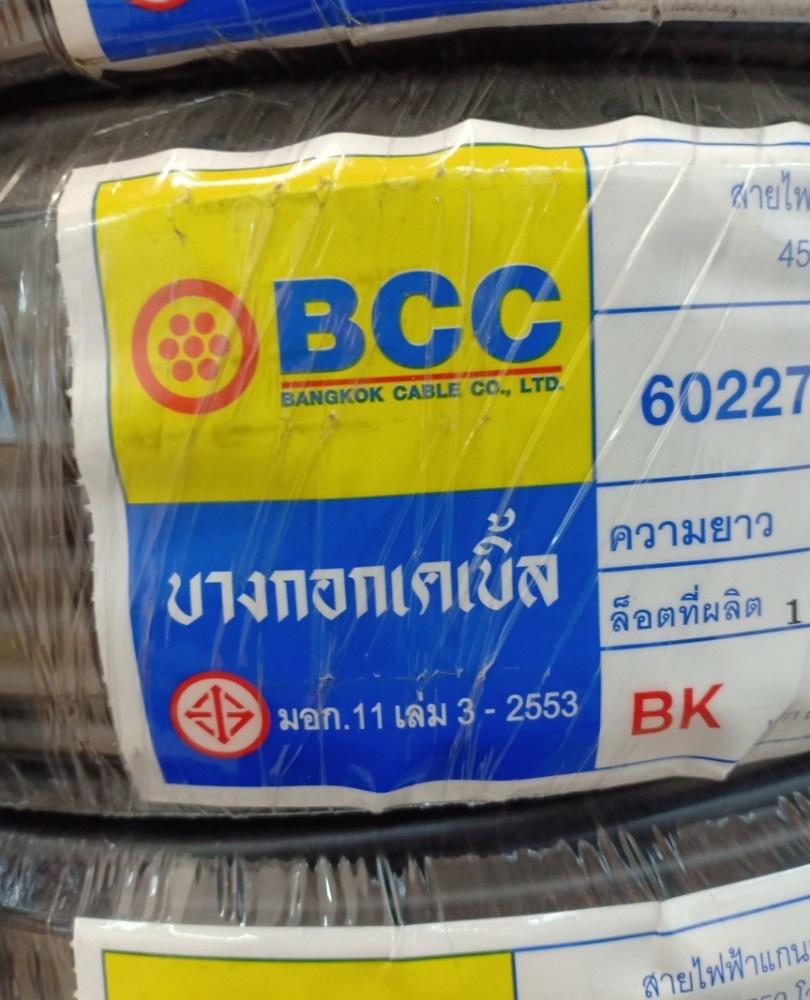 BCC 60227 IEC 01 (THW) 10 BK (C100) 450/750V THW
