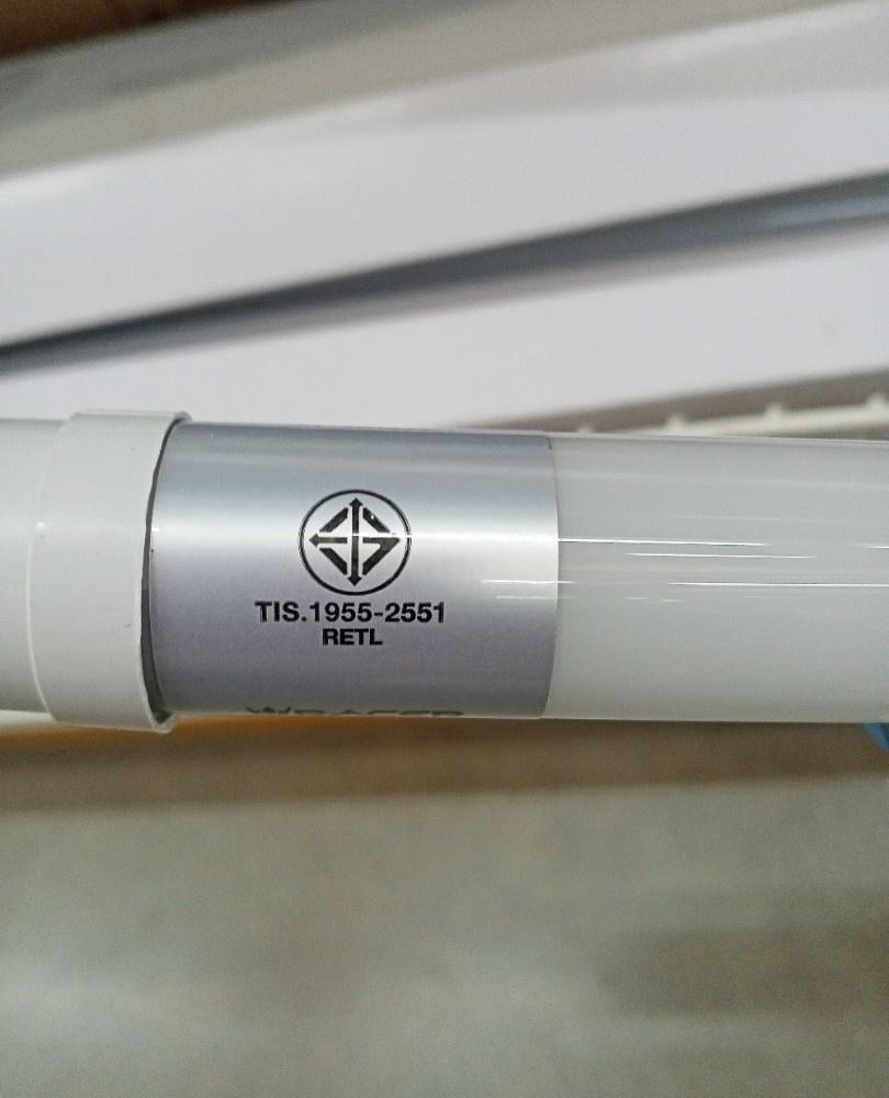RACER หลอดแอลอีดี T8  ไฮลูเมน  9 วัตต์ 1200lm  แสงขาว สีขาว