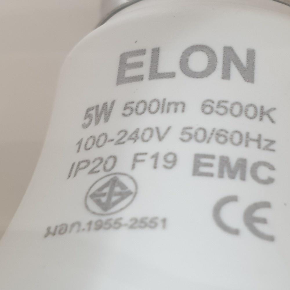 EILON หลอดแอลอีดีบัลบ์ เดย์ไลท์ Premier 5W 6500K