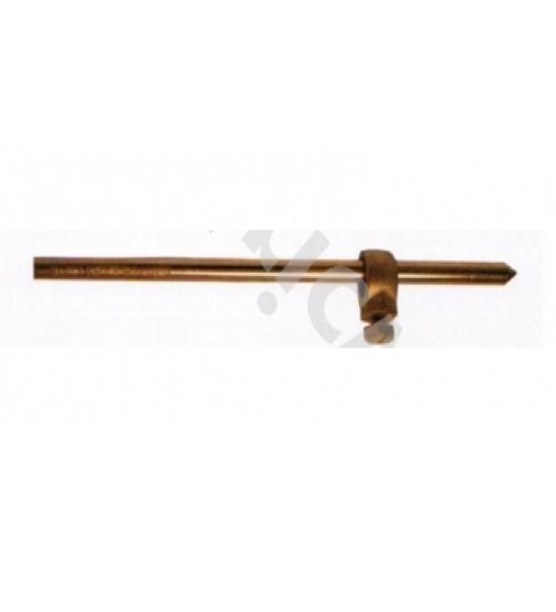 V.E.G กราวด์โหลดชุบทองแดงยาว 1.8 m  OD 12 mm. (ไม่รวมแคล้มป์)