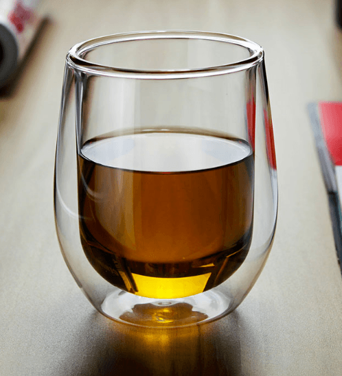AILO แก้วใสสองชั้น 250ML.  GXY004