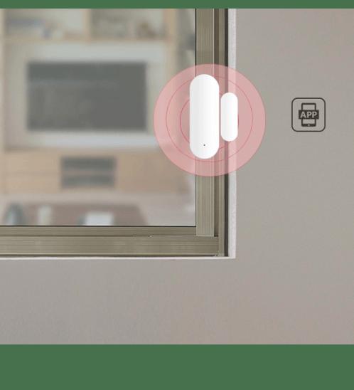 Luma Connect เซ็นเซอร์ประตู-หน้าต่าง Wifi อัจฉริยะ NAS-DS01W