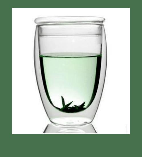 AILO แก้วน้ำสองชั้นพร้อมฝาปิดแก้ว 350 ml. XXL007