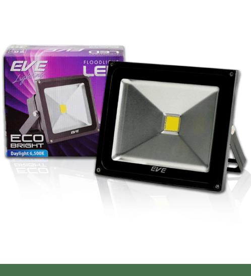 EVE โคมฟลัด LED  อีโคไบรท์ 50W. 220V.เดย์ไลท์.