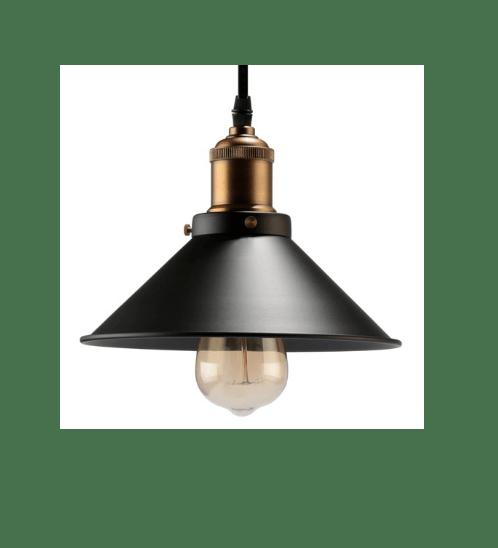 EVE โคมไฟห้อยเพดาน Loft  FM-DD-I-038-1*E27  ไม่รวมหลอด