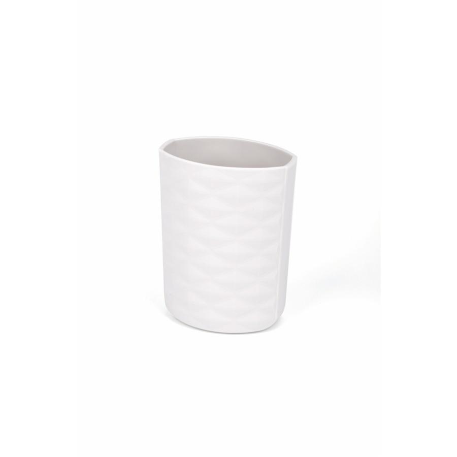 KOJI กล่องใส่แปรงสีฟันพกพา ขนาด 4.6x7.2x20.5 cm. 2JLS049-GY  สีเทา