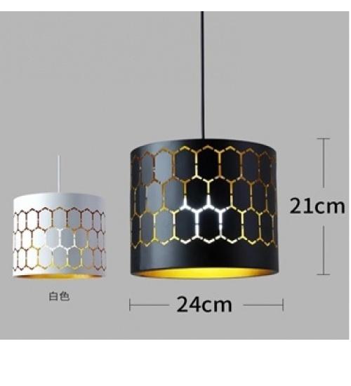 EILON โคมไฟแขวนโมเดิร์น   ZS-014  สีดำ