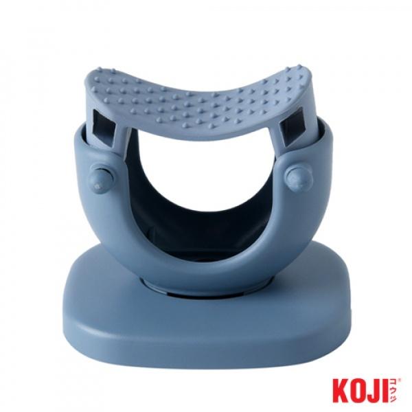 KOJI ที่แขวนอุปกรณ์ทำความสะอาด ขนาด 7.5x9x8 cm. 2JYS034-BU สีน้ำเงิน