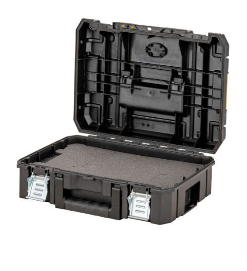 DEWALT ชุดกล่องเครื่องมือ TSTAK SIZE มาตรฐาน DWST83345-1 สีดำ