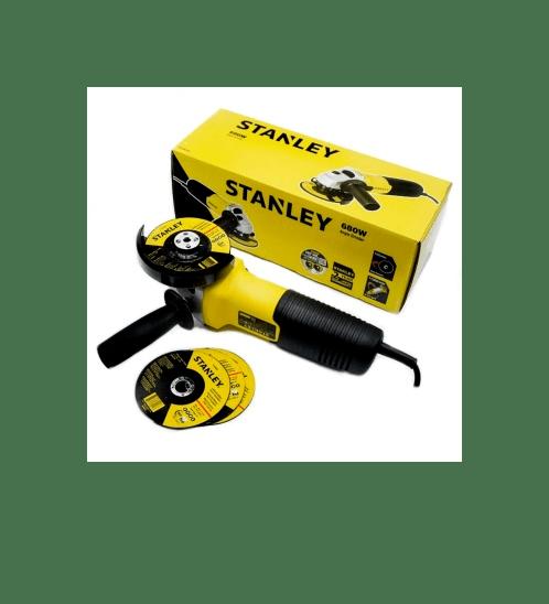 STANLEY เครื่องเจียร์ 4 นิ้ว   STGS6100A-B1 สีเหลือง