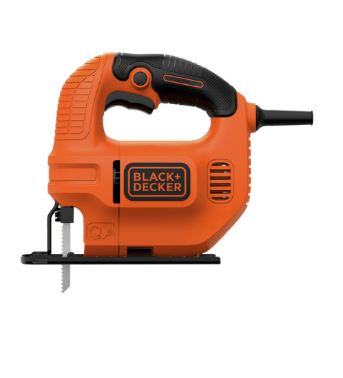 BLACK&DECKER เลื่อยฉลุไฟฟ้า KS501-B1 สีส้ม