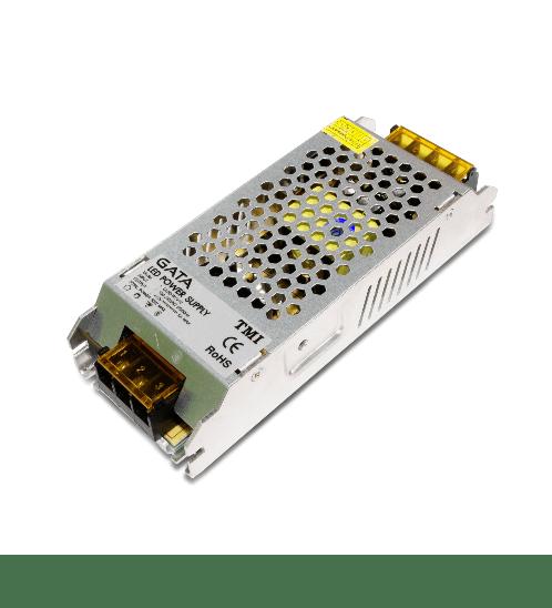 GATA ไดร์เวอร์ LED 60W 12V 5A - สีโครเมี่ยม
