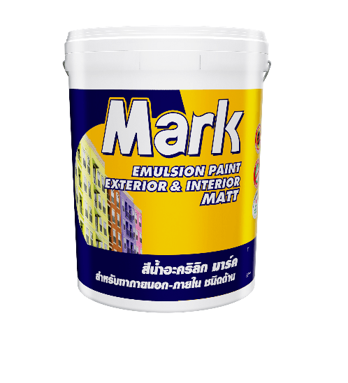 CAPTAIN สีภายนอก  สีภายนอก MARK 927 ถัง Rost  White