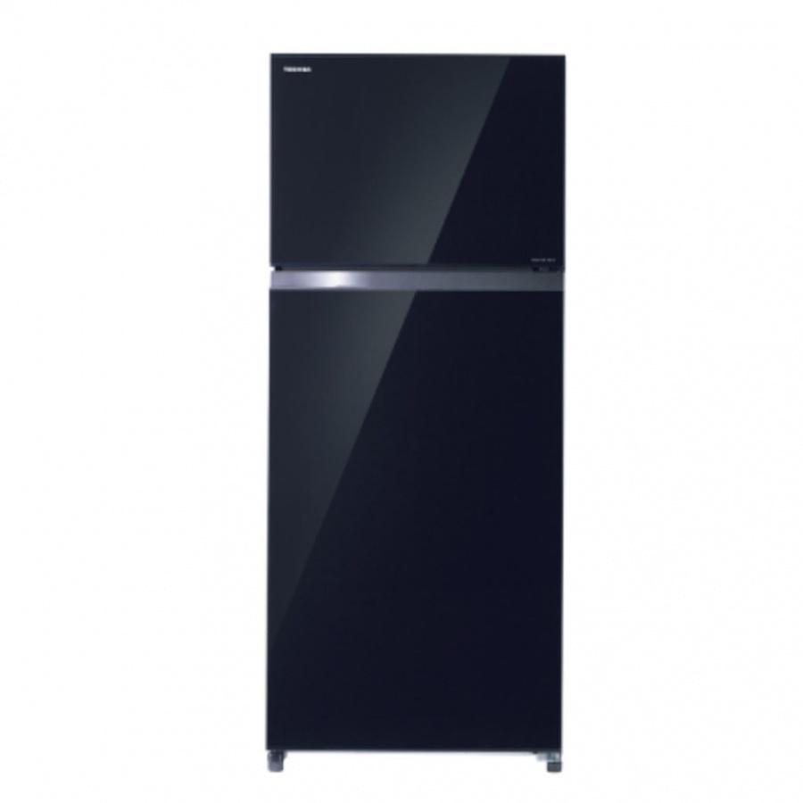 TOSHIBA ตู้เย็น 2 ประตู 16.8 คิว GR-HG52KDZ(XK) สีดำ
