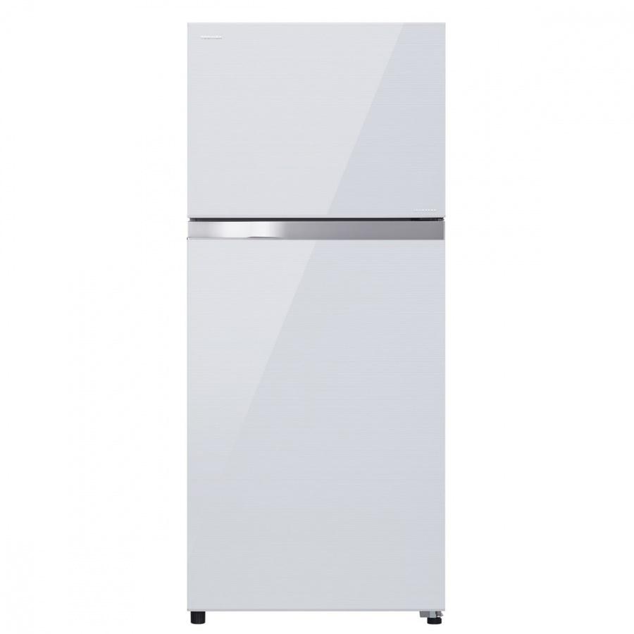 TOSHIBA ตู้เย็น 2 ประตู ขนาด 12.8Q  GR-AG41KDZ(ZW) สีขาว