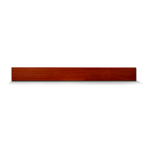 ตราเพชร ไม้อเนกประสงค์  ขนาด 1.5x10x400ซม.แดงประกายทอง