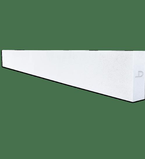 ตราเพชร คานทับหลัง ขนาด 20x240x10 ซม. สีขาว