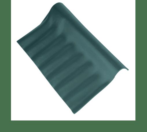 ตราเพชร ครอบปรับมุมตัวล่าง ลอนเล็ก สีเขียวสดชื่น เขียว