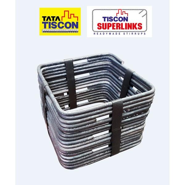 TATA เหล็กปลอก ทิสคอน ซุปเปอร์ลิงค์ ขนาด 10x10 ซม. SR24 มอก.