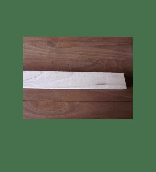 - ไม้สักไสเรียบไม้สักไสเรียบขนาด  1/4นิ้วx1.1/2นิ้วx6ฟุต SJK13