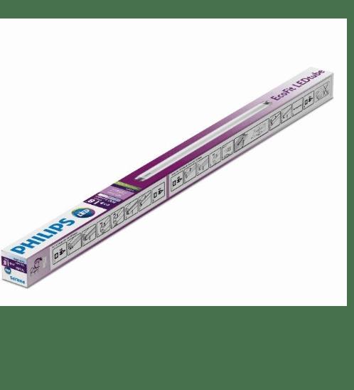 PHILIPS หลอด LED Tube 600mm 8W T8 สีขาว