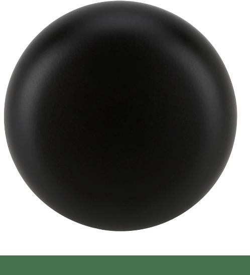 HAFELE ปุ่มจับเฟอร์นิเจอร์ซิงค์อัลลอยด์ ขนาด 31x28 มม.  สีดำด้าน 481.01.431 สีดำ