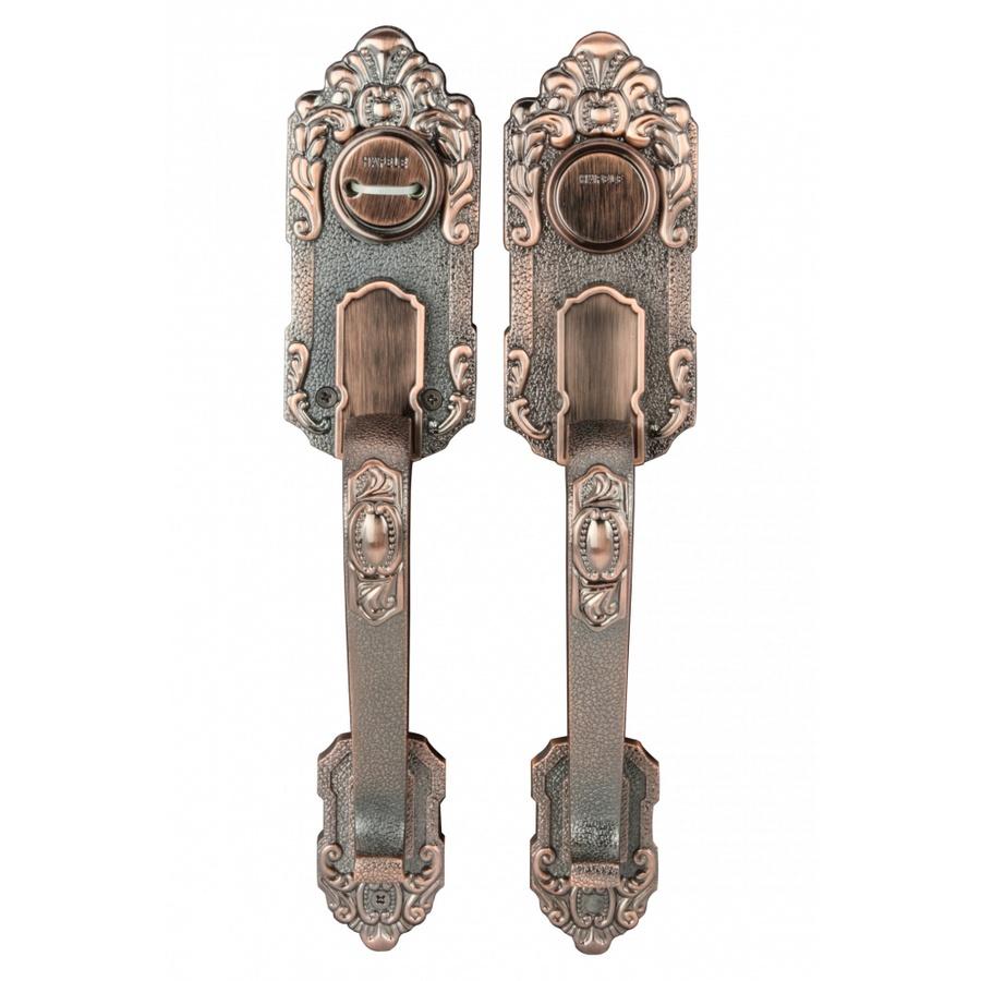HAFELE HAFELE มือจับประตูซิงค์อัลลอยด์บานหลอก 489.94.323 สีทองแดงรมดำ 489.94.323