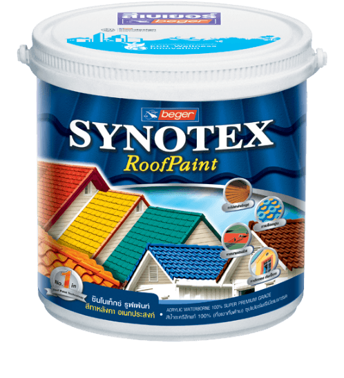 เบเยอร์ สีทากระเบื้องอะครีลิก  Synotex Roof