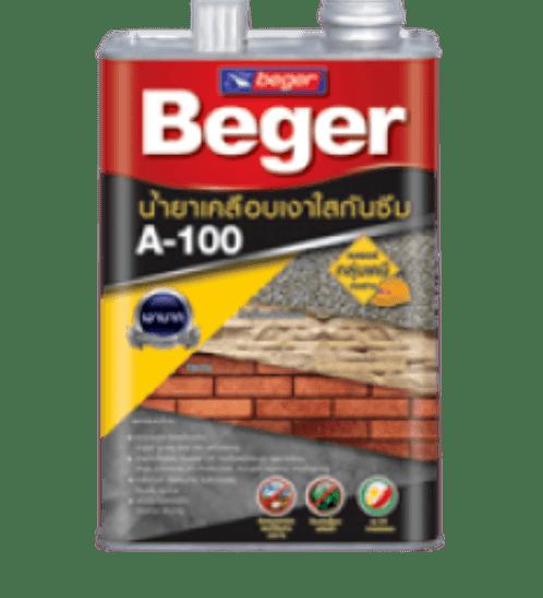 Beger น้ำยาเคลือบเงาอะครีลิก  A-100 กล.