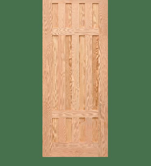 D2D ประตูไม้สนนิวซีแลนด์ ขนาด 90x200 ซม. Eco Pine - 027 ธรรมชาติ