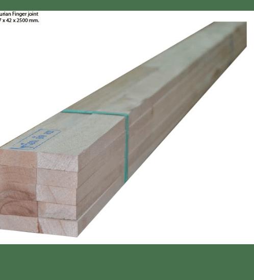 CM WOOD ไม้โครงทุเรียน 17mm.x42mm.x250cm. -