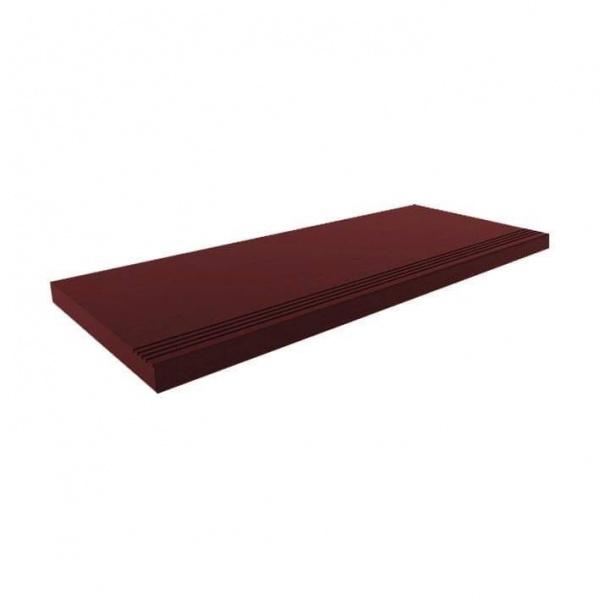 MJ บันไดไม้จริงลูกนอน 3x30x120ซม. สีมะค่า TR012-MK