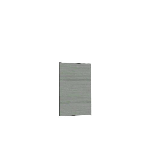 MJ แผ่นไม้ปิดข้างตู้แขวน  SAV-SW40/32-GW สีเทาลายไม้