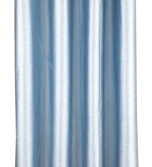 Davinci ม่านประตูตาไก่ ขนาด 150x250 ซม. 7701-2  D สีฟ้า