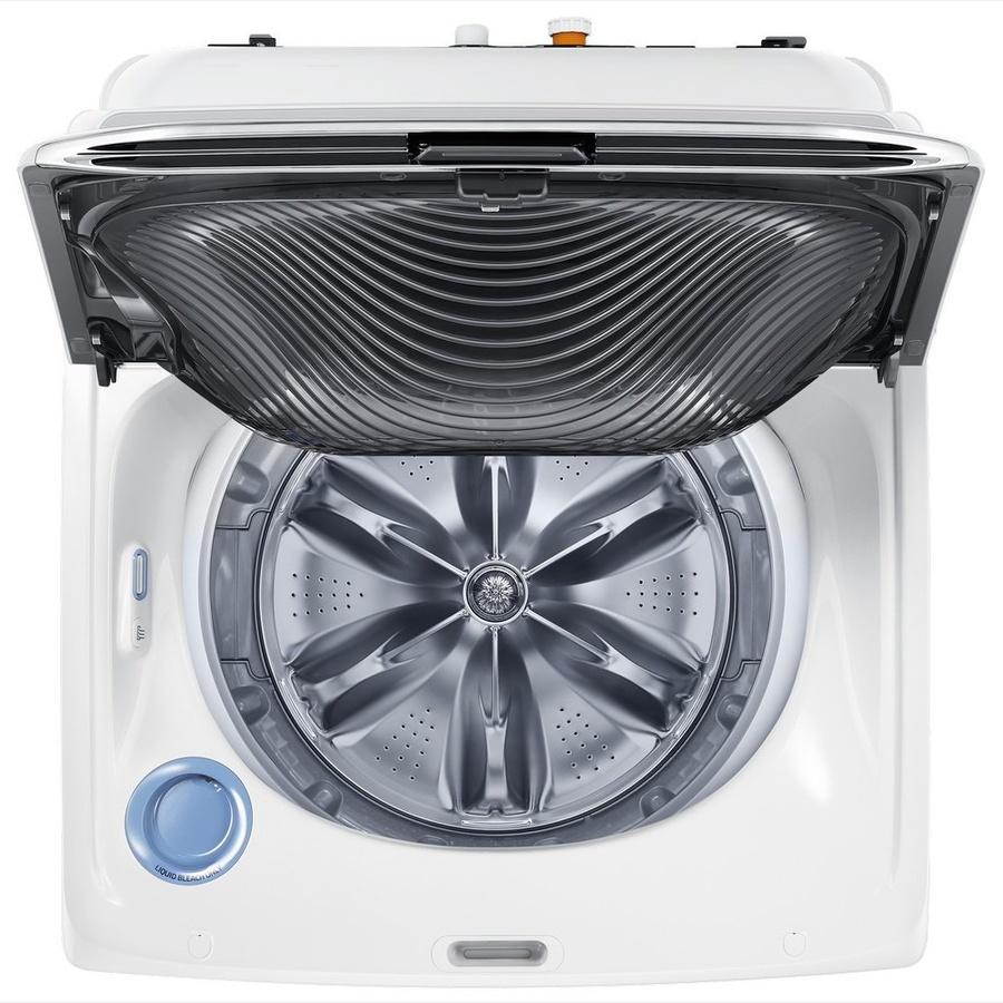 SAMSUNG เครื่องซักผ้าอัตโนมัติ 18 กก. WA18M8700GW/ST