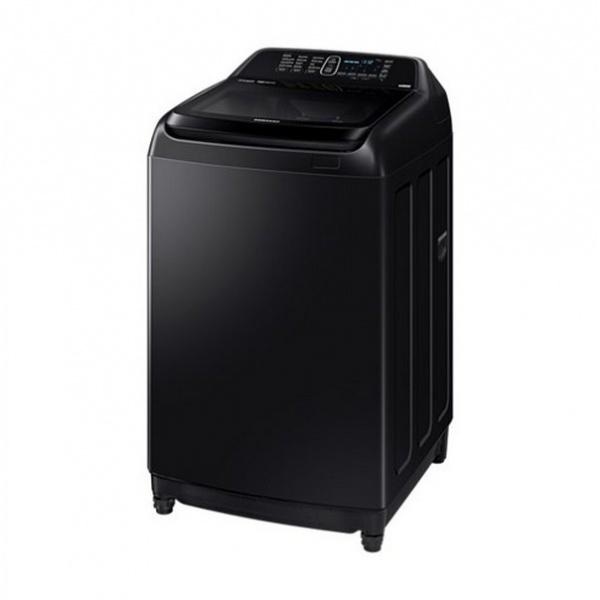 SAMSUNG เครื่องซักผ้าฝาบน Inverter 16 กก.  WA16R6380BV/ST สีดำ
