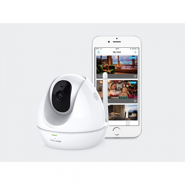 TP-Link กล้องวงจรปิด CCTV Smart IP Camera #NC450 สีขาว