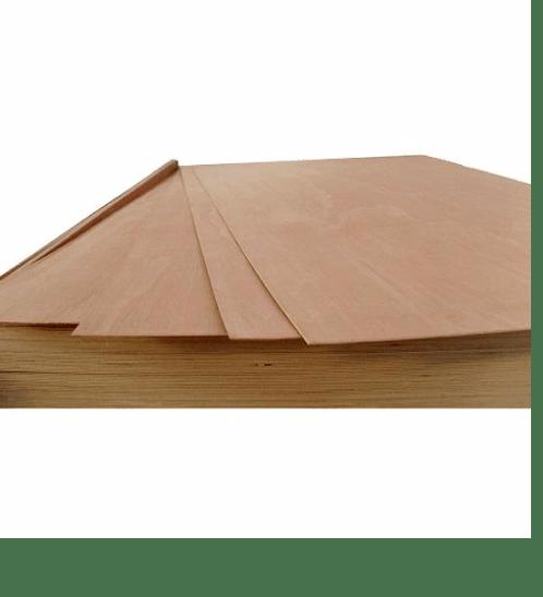 ตราบ้าน ไม้อัดยาง หนา 6 มม. 6 มิล อัดยาง MDF ธรรมชาติ