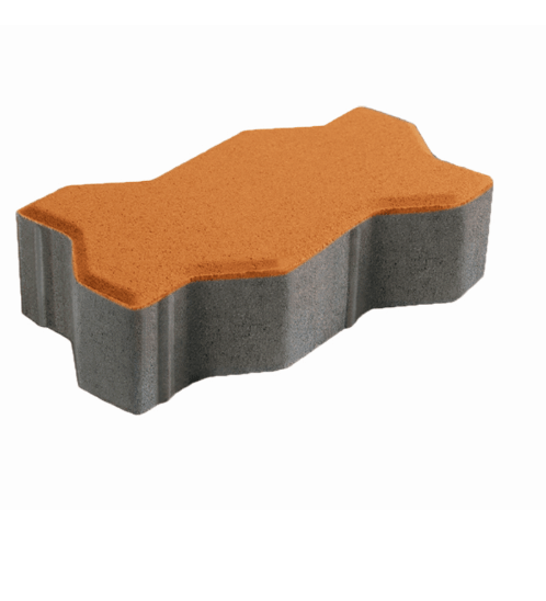 DURA บล็อกคดกริช ดูร่าวัน ขนาด 6x11.25x22.5 ซม.  DURAONE LS BLOCK สีส้ม