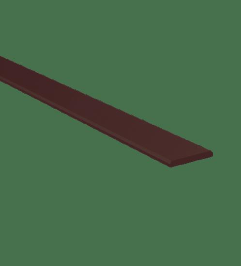 Dura one ไม้ระแนงดูร่า 7.5x300x0.8 โอ๊คเข้ม -