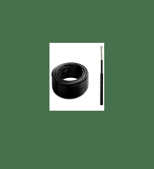 V.E.G สายไฟโซล่าร์เซลล์  Solar Cable PV1-F4 SQ.mm สีดำ (ต่อเมตร)