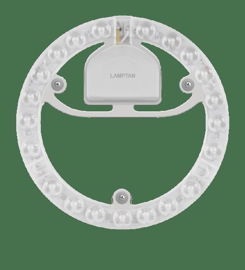 Lamptan หลอดไฟเพดาน แผงแม่เหล็ก  LED LENS 24W  แสงเดย์ไลท์ LENS MODULE สีขาว